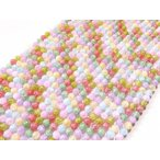 パワーストーン 卸 クリスタルクォーツ マルチカラークラック水晶 6mm 1連