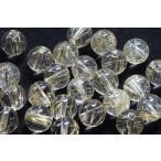 【天然石卸】ゴールドルチルクォーツ8mm 粒売り 5個セット tb-0127