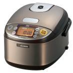 ショッピング金芽米 象印 炊飯器 IH式 3合 ステンレスブラウン NP-GG05-XT