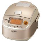 ショッピング金芽米 象印 炊飯器 圧力IH式 3合 シャンパンゴールド NP-RK05-NZ