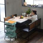 ダイニングテーブルセット 4点セット 4人用 テーブル チェア 木製 木 北欧 おしゃれ 幅120 リビングテーブル センターテーブル seedシリーズ 送料無料