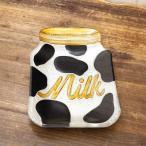ディスプレイトレイ おしゃれ 小物置き ポップデコ [ ガラストレイ(ミルク)] アメリカン雑貨