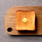 カッティングボード 木製 CoyuiCafe トーストを食べるときのカッティングボード レクタングルM