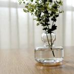マリメッコ marimekko 花瓶 フラワーベース クリア 067642 100 北欧 フィンランド 手吹き