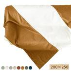 フリークロス マルチカバー ベッド ソファ ベッドカバー ソファーカバー 北欧 おしゃれ 長方形 シェニール織 光沢 高級 200×250 目隠し こたつカバー