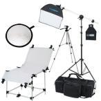 撮影機材 「すぐ撮る」コンパクトフルテーブル付40cm×40cm蛍光灯照明1灯セット