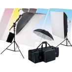 撮影機材 撮影照明 「料理撮影専科照明キット」ストロボ2灯セット+便利な横棒ブーム+背景付