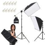 Yahoo!撮影機材・照明のライトグラフィカ撮影機材 「すぐ撮る」ミディアム 撮影用LED電球照明2灯セット