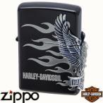 ZIPPO ジッポー HARLEY-DAVIDSON ハーレーダビッドソン HDP-02 サイドメタル ブラックイオン&シルバーメッキ【日本限定発売】【送料無料】