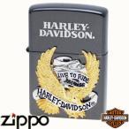 ZIPPO ジッポー HARLEY-DAVIDSON ハーレーダビッドソン HDP-06 ビッグメタル ブラックイオン&SGコンビメタル【日本限定発売】【送料無料】