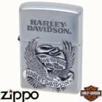 ZIPPO ジッポー HARLEY-DAVIDSON ハーレーダビッドソン HDP-08 ビッグメタル シルバーイブシ&シルバーイブシメタル【日本限定発売】【送料無料】
