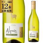 アルパカ 白 ワイン サンタ ヘレナ アルパカ シャルドネ セミヨン 750ml 12本 送料無料 チリ 白ワイン 1本あたり459円税別 RSL クール便不可