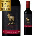 赤ワイン プードゥ カベルネ ソーヴィニヨン& シラー コンチャ イ トロ 12本 送料無料ケース チリ 辛口 赤の画像