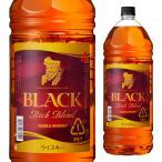 ウイスキー 4本までで1梱包 ニッカ ブラックニッカ リッチブレンド 4L(4000ml) リカウイス whisky 700ml換算908円(税別) 長S