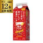 送料無料1本当たり498円(税別)サントリー ソーダでおいしい赤玉パンチ パック 500ml Alc.16%