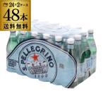 サンペレグリノ 500ml×48本 送料無料 2ケース 24本×2 ペットボトル 炭酸水 スパークリングウォーター 長S