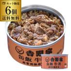 吉野家 缶飯 牛丼 160g×6個 送料無料