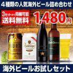 【送料無料】いちおし海外ビールお試し4本セット 5弾《 イネディット、ラーデベルガー、ブルーケトル、ボルダム  》4種×各1本 ビールセット [長S]