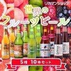 世界のフルーツビール 5種10本セット 送料無料 詰め合わせ 飲み比べ 長S