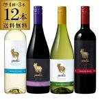 ワインセット 赤 白 プードゥ コンチャ イ トロ4種 赤白各3本(12本セット)送料無料 ケースの画像