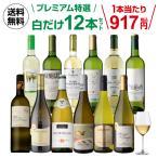 ワインセット 白 12本 飲み比べ 詰め合わせ 白ワインだけ プレミアム特選12本セット 30弾 送料無料  長Sの画像