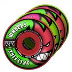 【スピットファイヤー 】【Spitfire 】Formula Four Neuro Melon Mash radial pink/green 52mm 99D フォーミラーフォーWheelsスケートボードウィール