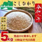 お米 5kg 安い 送料無料 生産者直送 福島県産こしひかり ふくしまプライド。体感キャンペーン(お米) スズラン