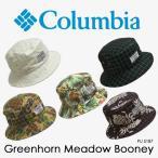 バケットハット メンズ 帽子 コロンビア columbia グリーンホーンメドウブーニー