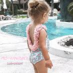 すいか柄 ベビー キッズ 水着 女の子 子供 新生児 ビキニ スイミング ビーチ サマー 夏 SK 80 90 100 110 120 送料無料