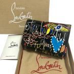 ルブタン ルビタグ 三つ折り財布 ブドワール ミニ ウォレット Boudoir Mini Wallet BLACK 1185121BK65 Christian Louboutin