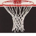 バスケットボール ゴールネット・白 ネットのみ