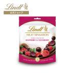 公式 リンツ Lindt チョコレート センセーションフルーツ フランボワーズ&クランベリー サマーチョコレート 夏チョコ スナックバッグ