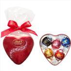 リンツ Lindt チョコレート バレンタイン リンドール ミニハート缶 5個入り