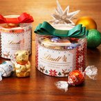 リンツ Lindt チョコレート クリスマス お菓子 プレゼント 2017 リンドールリボンギフトボックス 6種16個入り