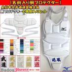 【名前入り胴プロテクター】ミズノ空手 胴プロテクター+名入れ刺繍(名前入り) SI-23JHA70601