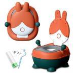 【Ting2 Baby】おまる・便座ソフト補助便座 子供用 トイレトレーニングトレーナー 折りたたみ式 ベビー 洋式おまる ポッティス イス