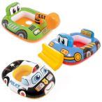 浮き輪 子供 赤ちゃん 足入れ パトカー 飛行機 ベビーフロート