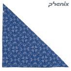 ショッピング2012 PHENIX(フェニックス)【在庫処分/バンダナ/冷感持続/数量限定】Magicool Bandana(マジクールバンダナ)-NV/ネイビー- PH218AZ10