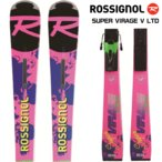 【ご注文特典開催】20-21 ROSSIGNOL(ロシニョール)【スキー板/数量限定】 SUPER VIRAGE V LTD(R22)(SPヴィラージュV LTD+金具)RAJLA03【金具取付料無料】