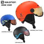 18-19 SALOMON(サロモン)【Helmet/予約商品】 GROM VISOR (グロム バイザー)【ジュニア/スノーヘルメット】