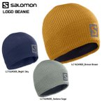 19-20 SALOMON(サロモン)【数量限定/ニット帽】 LOGO BEANIE(ロゴビーニー)【ニット帽】