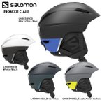 19-20 SALOMON(サロモン)【Helmet/数量限定】 PIONEER C.AIR(パイオニアカスタムエアー)【スノーヘルメット】