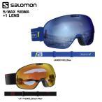 19-20 SALOMON(サロモン)【ゴーグル/数量限定】 S/MAX SIGMA(エスマックス シグマ) 球面レンズ【スノーゴーグル】