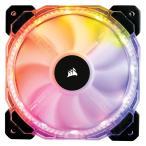 CORSAIR RGB LED制御に対応した140mm高静圧ファン HD140 RGB LED (CO-9050068-WW) ファン1個の増設用モデル