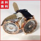 ペアウォッチ ペア 腕時計 文字盤 2色 ブラック ホワ