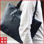 メンズ トートバッグ 編み込み レザー 革 人気 メッシュ イントレチャート カバン A4