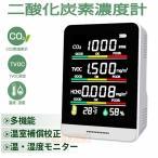 二酸化炭素濃度計測器 co2センサー 日本製センサー co2濃度測定器  CO2マネージャー コロナ対策 飲食店 業務用 二酸化炭素モニター 温度計 湿度 三密 換気 測定