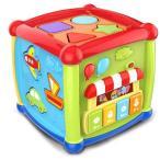 メロディぱずるボックス 遊びいっぱい音楽おもちゃ 型はめ 音の出る赤ちゃんおもちゃ たのしく知育 やみつきボックス