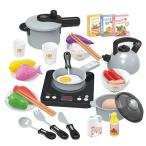 おままごとセット 料理ごっこ 室内遊び 調理器具セット ごっこ遊び 子供おもちゃ キッチン 台所 シミュレーション 知育玩具 男の子 女の子 小学生
