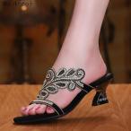 ミュール サンダル ハイヒール ピンヒール ローヒール パーティー 結婚式 お呼ばれ パーティ 20代30代40代 披露宴 発表会 靴 シューズ